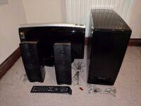 Samsung DVD Player & 2.1 Sound System
