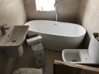 "Designer freestanding bath by City Distribution - ""Ealing"" - NEW - RRP £1320.00"