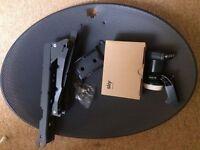 SKY/Freesat ZONE-1 MK4 Dish & Quad LNB BRAND NEW