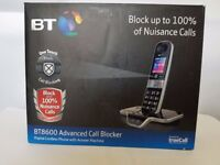 BT 8600 Single Digital Cordless Answerphone