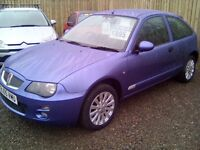 2005 Rover 25, LONG MOT, SERVICE HISTORY, LOW MILEAGE