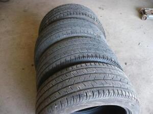 Four 245-40-17 tires $220.00