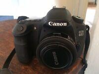 DSLR Canon 60D mint condition + accessories