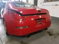 NISSAN 350Z COUPE REAR BUMPER RED 2006 *BREAKING*