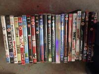 Job lot - mixed dvds
