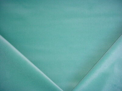 3-7/8Y JB MARTIN BEAUTIFUL TOULOUSE AQUA BLUE VELVET UPHOLSTERY FABRIC