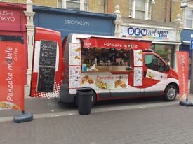Excellent Catering Van Pancake Business with All Certificates Needed Just Been Serviced