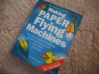Beginners guide to making paper flying machines