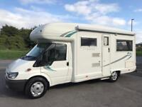 AUTO SLEEPER RIENZA 4 BERTH MOTORHOME, 2006/55 PLATE FULLY AUTOMATIC GEARBOX.