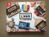 Nintendo Labo Variety Kit & Vehicle kit. Excellent condition (prebuilt)