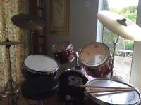 Ideal starter drum kit for sale