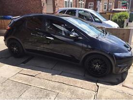 18' riva black alloy wheels 5x114.3