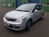 Practical Spacious Reliable car for sale Nissan Tiida 1.6 Manual 5 doors like note almera focus jazz