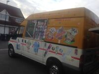 Traditional Ice Cream Van available for Kids Parties, Functions etc.