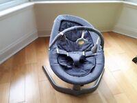 Nuna Leaf Gliding Rocker & Toy Bar (rocking baby chair) - as new
