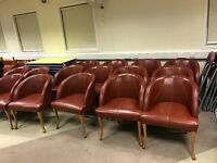 Armchairs and dinner chairs for sale