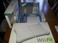 Wii Video Games Console + Wii Fit