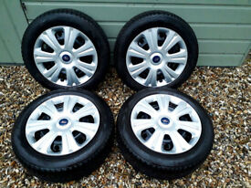Steel wheels and Winter Tyres
