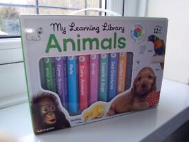 My Learning Library Animals in carry box,great condition, looked at once.