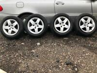 Peugeot 207 2008 alloys&tyres