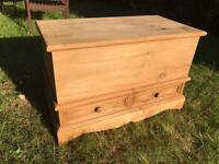 Lovely Victorian Blanket Box / Chest / Trunk
