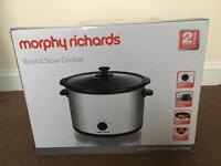 Morphy Richards slow cooker 5,5 L new