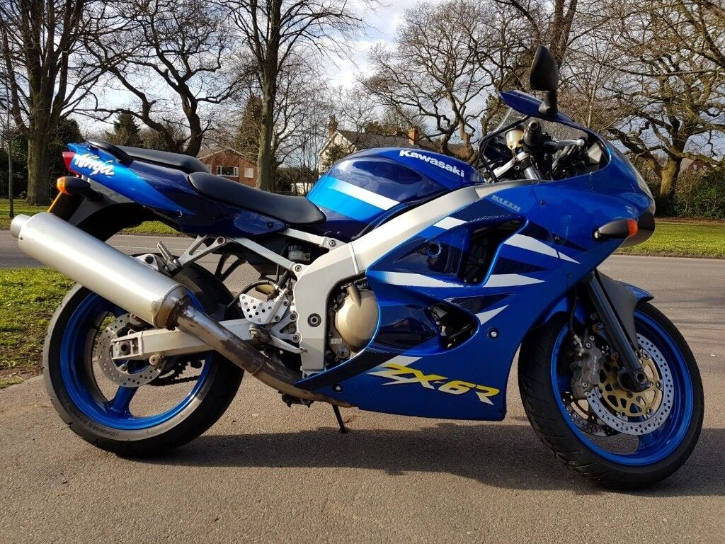 Kawasaki Zx6r J2 Only 10k On Clock With Meta Alarm System In