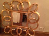 Large wall mirror Jeffries interiors