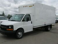 2013 Chevrolet Express 3500 16 Foot Unicell Cube