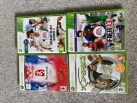 4 XBOX360 games