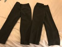 Brand new unworn school MnS trousers 5-6yrs and 1x 4-5