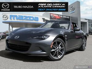2017 Mazda Miata GT $278/BW TX IN! NAPPA LEATHER, EXTREME LOW KM
