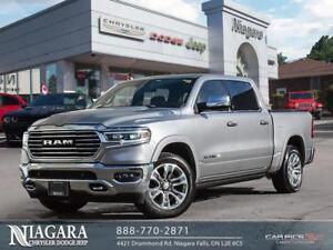 2019 Ram 1500 LARAMIE LONGHORN | CREW | 4X4 | TOP-OF-THE-LINE!