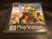 PlayStation 1 shrek game. Ps1