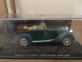1:43 Bentley 4,25 Litre - JAMES BOND COLLECTION - From Russia with Love - FABBRI