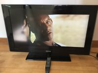 "SAMSUNG TV LED 40"" COMES WITH REMOTE CONTROL"