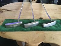 Ping, Odyssey and Scotty Cameron putters