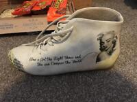 Marilyn Monroe Quote Boots