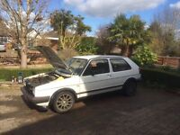 1987 MK2 GOLF GTi 8V. Starts/Drives, perfect for conversions/restorations.