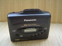 Panasonic radio cassete player