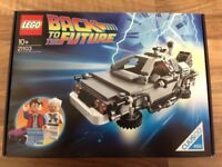 Back To The Future The DeLorean Time Machine (Lego 21103)