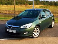 AUTOMATIC! (2010) VAUXHALL ASTRA 1.6 EXCLUSIV 5DR - FSH - LONG MOT - ALLOYS - NEW SHAPE - LOW MILES