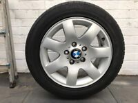 BMW e46 Alloys 205/55 R16 set of 4 very good condition good tread
