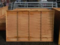 Timber fence panel 6'x4'