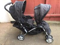Baby Pushchair Duo | Double Baby Buggy | Baby Pram £110