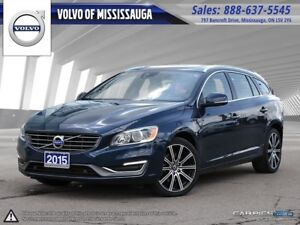 2015 Volvo V60 T6 AWD Premier Plus from 0.9%-6Yr/160,000 - Missi