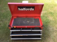 Halfords professional 5 drawer tool chest