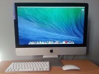 "Slim 21.5"" Apple iMac Core i5 2.7Ghz 8gb 1Tb Logic Pro Cubase FL Studio Ableton Izotope Mastering"