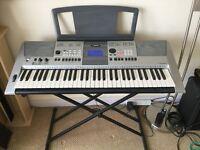 Yamaha PSR E413 Electronic Polyphonic Keyboard with Adjustable Stand