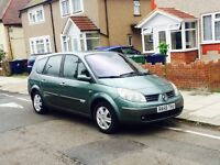 Renault Grand Scenic 1.6, 7 SEATER With MOT & Full Service History, Only 1 Former Keeper, Air Con